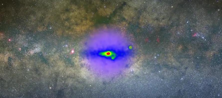 Tracce di materia oscura al centro della nostra galassia