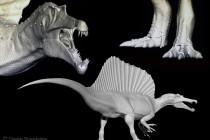 Dinosauri scolpiti al computer