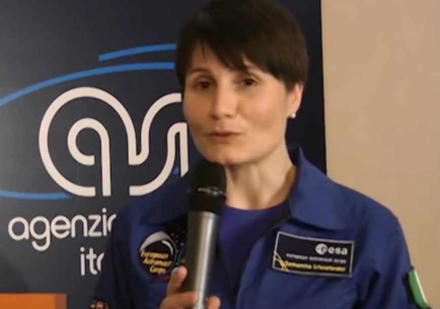 AstroSamantha prima di diventare una star